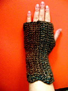 Ravelry Half A Skein And Two Hours Mitts Pattern By Sarah