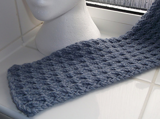 Ravelry: reversible scarf pattern by Brian smith