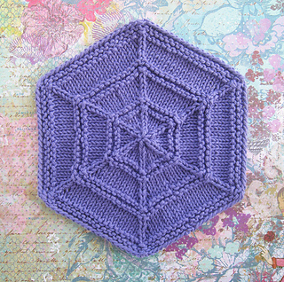 Ravelry: Outside-In Hexagon pattern by FireCats Design