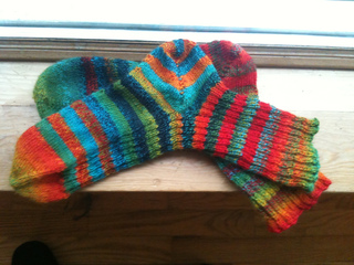 Ravelry: Toe-up, Forethought Heel Sock Template pattern by Reena Meijer Drees