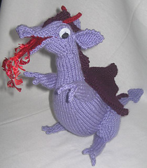 Small Dragon Knitting Pattern : Ravelry: Toy Dragon pattern by Rian Anderson