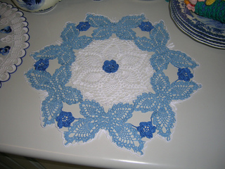 Ravelry: Butterfly Garden Doily pattern by Cylinda D. Mathews
