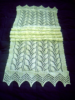 Willow Leaf Knitting Pattern : Ravelry: Willow Leaf Stole pattern by Linda Choo