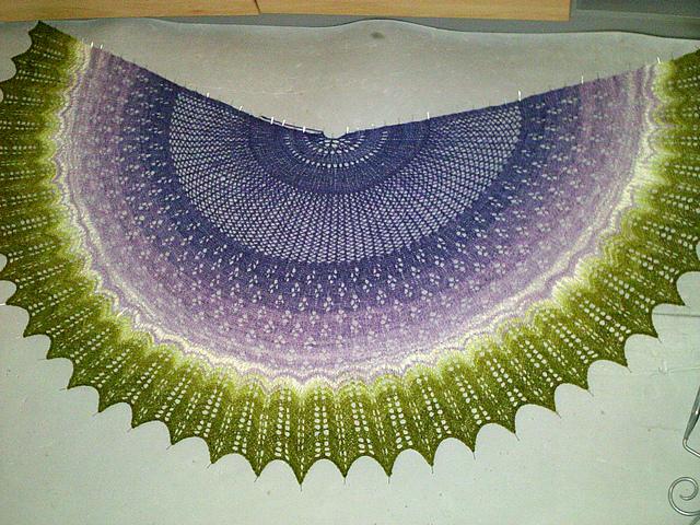 Design: Aurora Shawl by Jon Dunn-Ballam