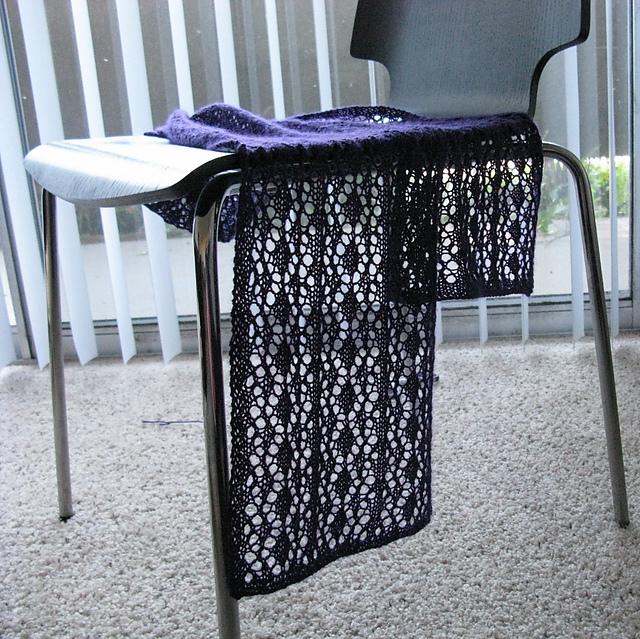 """针织蕾丝围巾""""葡萄"""" - maomao - 我随心动"""