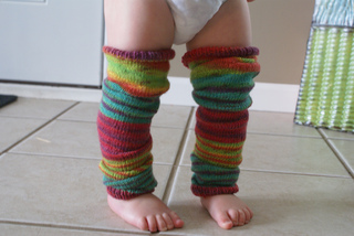 Ravelry: Baby Knit Leg Warmers pattern by Sarah Turpin