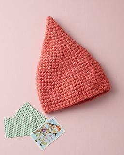 Free Crochet Pattern For Hershey Kiss Hat : Ravelry: Cone Hat (Crochet) pattern by Lion Brand Yarn