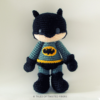 Amigurumi Fox Crochet Pattern Free : Ravelry: Batman Amigurumi pattern by Serah Basnet