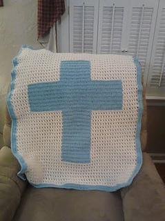 Ravelry: XOXO Cross Blanket pattern by Ryan Nicole