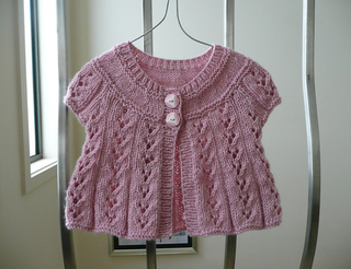 Sirdar Knitting Pattern Errata : Ravelry: Design E - Lace Cardigan with Long or Short ...
