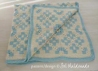 Tapestry Crochet Tutorial For Beginners : Ravelry: Tapestry Crochet Tribe Blanket pattern by Sol ...