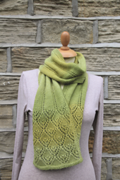 Smiling Diamonds Lace Scarf PDF