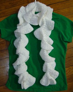 Knitting Pattern For Potato Chip Scarf : Ravelry: Potato Chip Scarf pattern by kraftykash