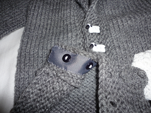 Sheepy buttons