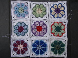 Crochet Granny Square Somalia Pattern : Ravelry: Granny Square for Somalia pattern by eliZZZa Wetsch