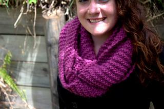Infinity Scarf Knitting Pattern Garter Stitch : Ravelry: Garter stitch infinity scarf pattern by Crystal ...