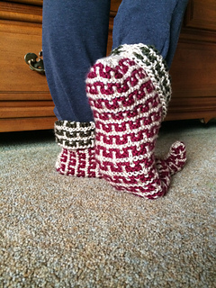 Ravelry: Elf Slippers: Knit (archived) pattern by Kj Hay