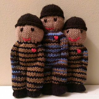 Ravelry: Izzy Doll - knitted comfort doll pattern by Shirley OConnell