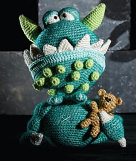 Amigurumi Monsters Tessa Van Riet : Ravelry: Morrison the monster pattern by Tessa van Riet