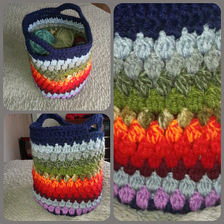 Ravelry: Cluster Stitch Bag Tutorial pattern by bobwilson123