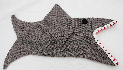 Shark Tale Cocoon Crochet Pattern Free : Ravelry: Shark Photo Prop Cocoon pattern by Desirea Dunn
