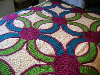 Free Crochet Wedding Ring Quilt Pattern : Ravelry: Wedding Ring Quilt pattern by Kathleen Sams
