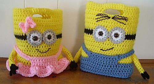 tricoter un minion