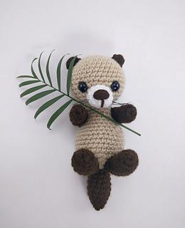 Ponyta Amigurumi Pattern : Ravelry: Otter pattern by Theresas Crochet Shop