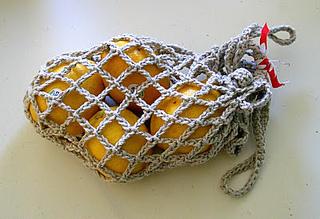 Crochet Mesh Bag Pattern | All For Crochet