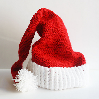 Knit Santa Hat Pattern : Ravelry: Santa Hat, Elf Hat, Pixie Hat, Beanie Hat pattern by Naztazia