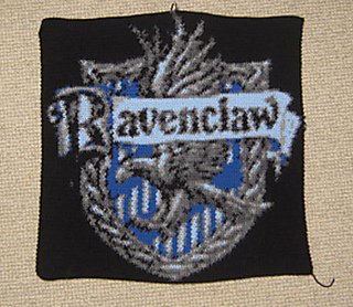 Ravenclaw Crest Crochet Pattern by Ravelry