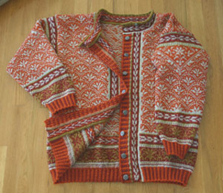 Tiger Lily Jacket Knitting Kit