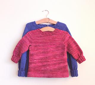 Easy Knitting Pattern Toddler Sweater