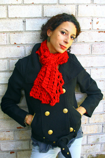 Ravelry Chunky Lace Knit Scarf Pattern By Vanessa Ewing