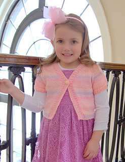 Free Knitting Patterns For Angel Babies : Ravelry: F616 Cropped Cardigan pattern by Vanessa Ewing