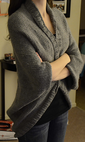 Free Knitting Pattern For Shrug : Ravelry: Speckled Shrug pattern by Lion Brand Yarn