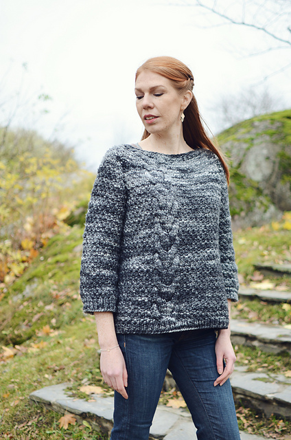 Dream Big Cable Sweater