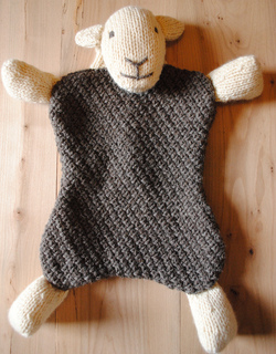 Herdy Cushion Knitting Pattern : Ravelry: Herdy Hot Water Bottle Cover & Toy pattern by Janice Anderson
