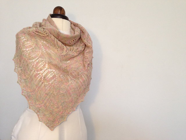 Unnecessarily Twee Spring Shawl