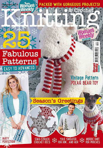 Ravelry: Womans Weekly Knitting & Crochet Special, December 2015 - p...