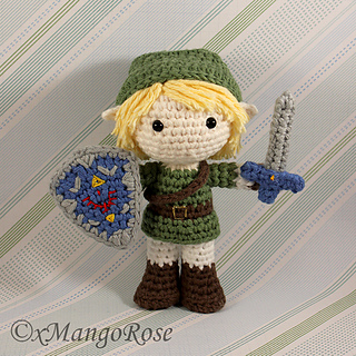Amigurumi Link Pattern : Ravelry: Link Amigurumi Doll from Legend of Zelda pattern ...