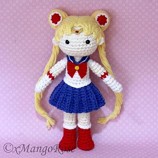 Stitch Amigurumi Doll Pattern : Ravelry: Sailor Moon Amigurumi Doll pattern by Wendy Korz
