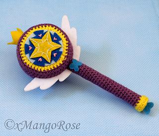 Ravelry Royal Magic Wand Star S Magic Wand Pattern By