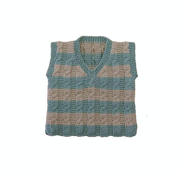 Beachcomber Vest by Sharon Mooney ($5.50)