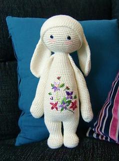 Amigurumi Dolls By Artist Lydia Tresselt : Ravelry: RITA the rabbit - bunny mod kit for lalylala ...