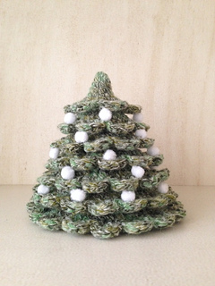 Ravelry Little Christmas Tree Pattern By Iga Paczek