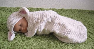 Ravelry Baby Cocoon And Hat Lamb Baby Kokon Schäfchen Pattern