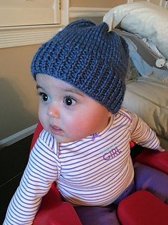 Free Knitting Patterns For Toddler Hats On Straight Needles : Ravelry: Dozen Baby Hats (knit flat) pattern by Denise Balvanz