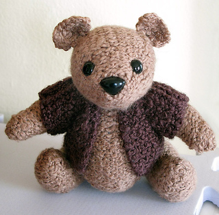 Ravelry: Knitted Teddy pattern by Sandra Polley