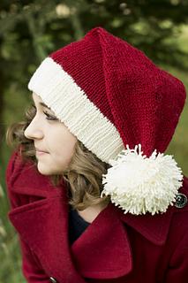 Ravelry  Santa Hat pattern by Adina Logsdon f767cfb6917